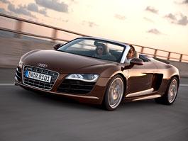 Frankfurt 2009: Audi R8 Spyder: titulní fotka