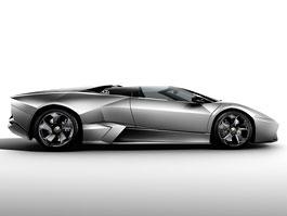 Frankfurt 2009: Lamborghini Reventón Roadster: titulní fotka