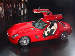 Frankfurt 2009 živě: Mecedes-Benz SLS AMG - první dojmy: titulní fotka