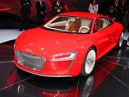 Frankfurt 2009: Audi R8 e-Tron: titulní fotka