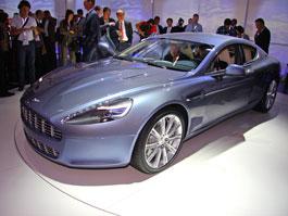 Frankfurt 2009: Aston Martin Rapide: titulní fotka
