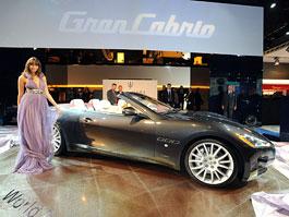 Frankfurt 2009: Maserati GranCabrio: titulní fotka