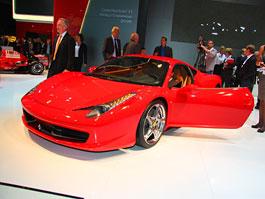 Frankfurt 2009 živě: Ferrari 458 Italia – první dojmy: titulní fotka