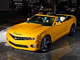 Chevrolet Camaro Convertible: plátěná střecha od Drop Top Customs: titulní fotka