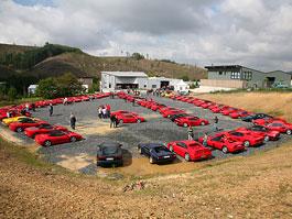 80 vozů Ferrari na jednom místě? Mňam...: titulní fotka