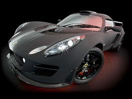 Lotus Exige Scura: černý lak a karbon pro Cup 260: titulní fotka