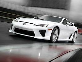 Lexus LFA: sériový model představen v Tokiu: titulní fotka