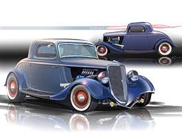 Ford 1934 EcoBoost Hot Rod: časy se mění: titulní fotka