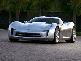 Chevrolet Corvette 50th Anniversary Stingray Concept: filmová hvězda: titulní fotka