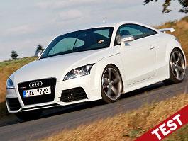 Test: Audi TT RS - fast forward: titulní fotka