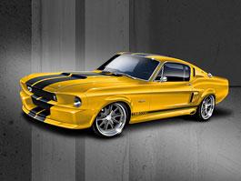 Shelby GT500CR: nová kreace na staré téma od Classic Recreations: titulní fotka