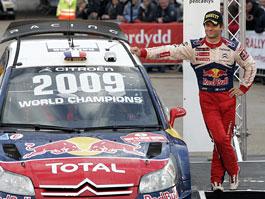Sébastien Loeb a Daniel Elena s Citroënem C4 WRC míří do Sosnové: titulní fotka