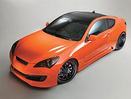 Hyundai Genesis Coupe: sportovec od LUX Motorwerks: titulní fotka