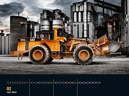 Heavy Equipment Calendar 2010: bagristi to chtěj taky: titulní fotka