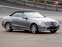 Spy Photos: Mercedes-Benz E Cabrio: titulní fotka