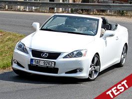 Test: Lexus IS 250C – Open Air festival: titulní fotka