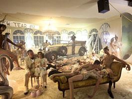 Maybach Zeppelin: David LaChapelle dělá umění: titulní fotka