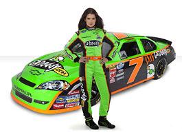 Danica Patrick s Chevroletem v NASCAR Nationwide Series: titulní fotka