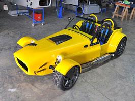 Millennium 7: replika Lotusu 7 z Jihoafrické republiky: titulní fotka