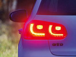 Volkswagen představil LED svítilny pro ostré golfy: titulní fotka