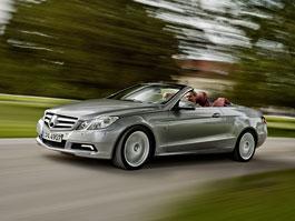 Mercedes-Benz E Cabriolet: nová fotogalerie: titulní fotka