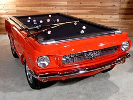 Mustang Pool Table: kulečníkový stůl pro fanoušky Fordu: titulní fotka