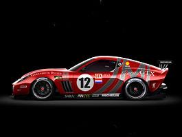 Vandenbrink chystá zakázkové závodní Ferrari 599 Ecuire GTX: titulní fotka