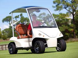Garia: luxusní vozík pro milovníky golfu: titulní fotka