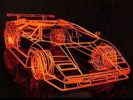 Lamborghini Countach z ocelových trubiček: Benedict Radcliffe opět na scéně: titulní fotka