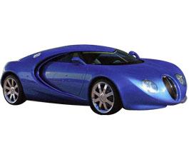 Bugatti Veyron podle Waltera de Silvy: titulní fotka