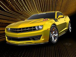SMS 620 Camaro: Steve Saleen upravuje Chevrolet: titulní fotka