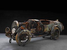 Bugatti Brescia Type 22 Roadster: stará láska (ne)rezaví: titulní fotka