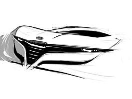 Alfa Romeo Coupe: první skica od Stile Bertone: titulní fotka