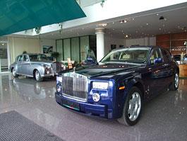 Rolls-Royce v House of England v Brně: titulní fotka