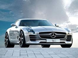 Mercedes-Benz SLS AMG: ostřejší vzhled od AK-Car Design: titulní fotka