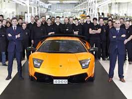 Lamborghini Murciélago: vyroben kousek číslo 4000: titulní fotka