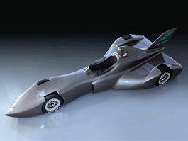 DeltaWing Racing Car: koncept pro rok 2012: titulní fotka