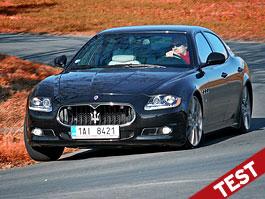 Test: Maserati Quattroporte Sport GT S : Vězeň ve vlastním těle: titulní fotka