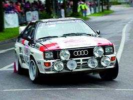 Audi Quattro: Třicet let pohonu všech kol: titulní fotka
