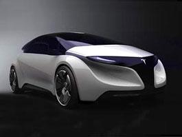 IED EYE Concept: sportovní kupé na elektřinu: titulní fotka