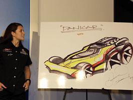 Danica Patrick spolupracuje s Hot Wheels: titulní fotka