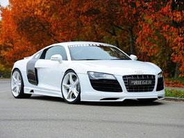 Audi R8 : vzhled V10 pro V8 od Rieger Tuning: titulní fotka