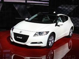 Ženeva 2010 živě: Honda CR-Z: Návrat legendy: titulní fotka