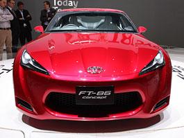Ženeva 2010 živě: Toyota FT-86: titulní fotka