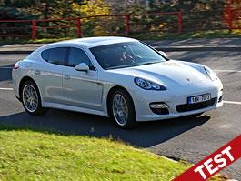 Test: Porsche Panamera Turbo: Ať tě provází síla: titulní fotka