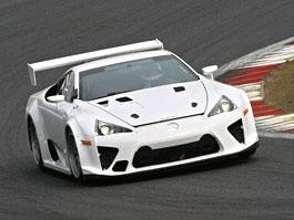 Lexus LF-A se vrací na Nürburgring: titulní fotka