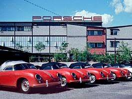 Porsche slaví 60 let výroby ve Stuttgart-Zuffenhausen: titulní fotka
