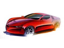 Alfa Romeo Montreal: student designu oživil klasiku: titulní fotka