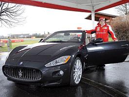 Fernando Alonso: jedno Maserati GranCabrio i pro mě!: titulní fotka