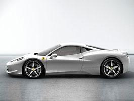 Ferrari 458 Italia: další
